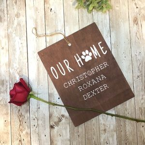 Personalized Hanging Wall Decor